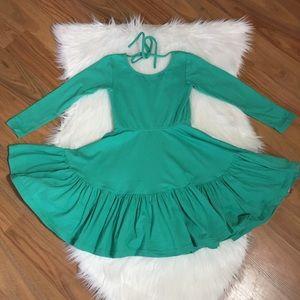 Omi + Jo green long sleeve dress, 5